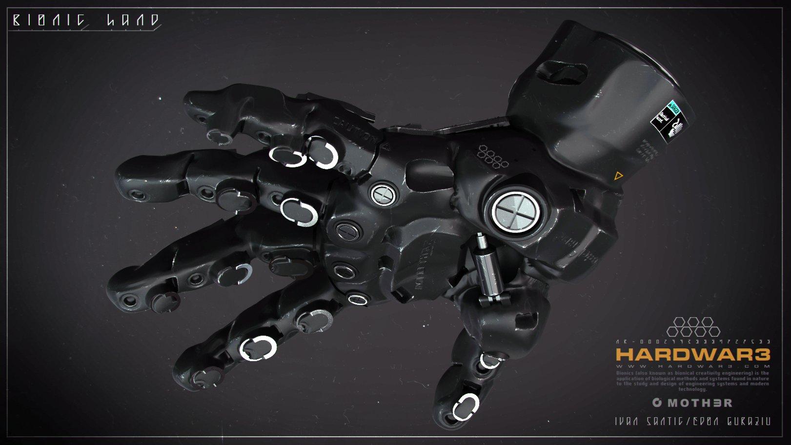 Bionic Hand # 02