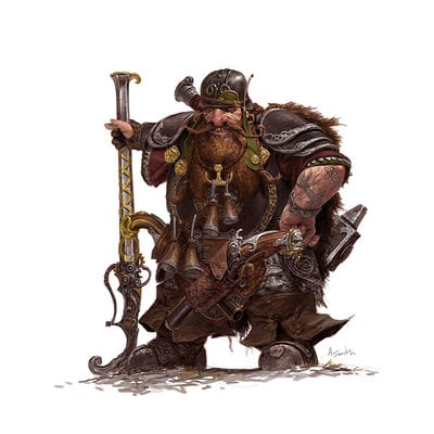 Adrian smith fw dwarf thunderer