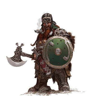 Adrian smith fw dwarf warrior