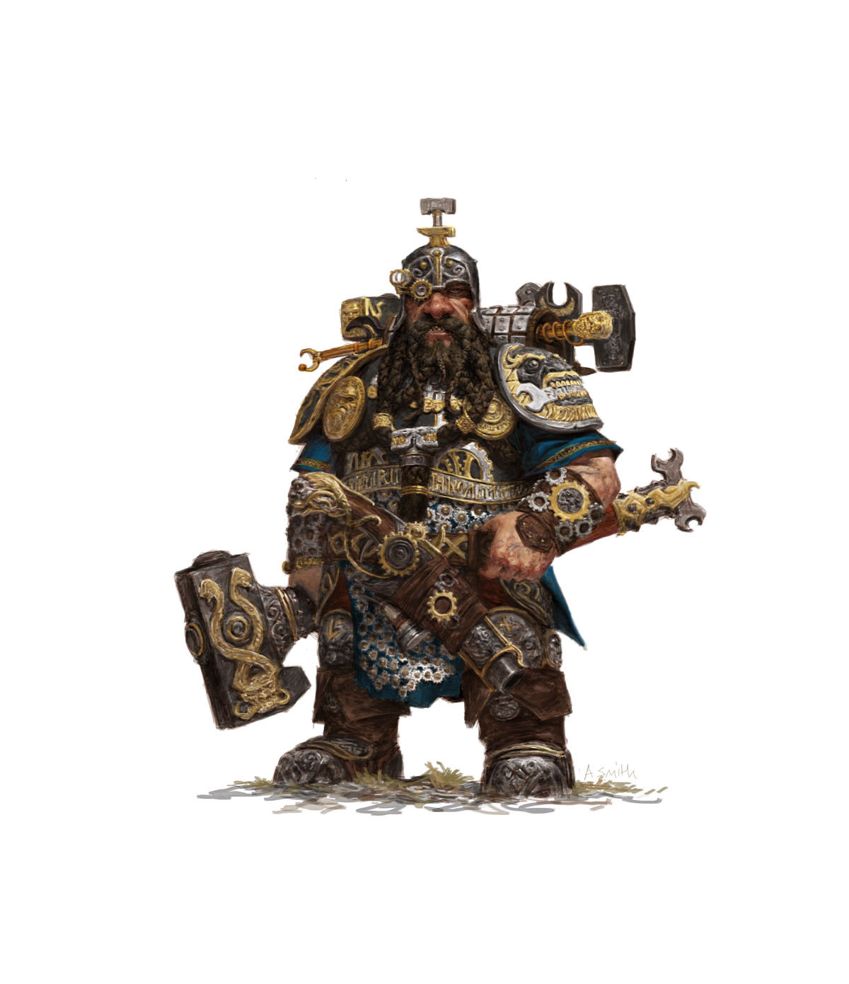 Adrian smith fw dwarf engineer