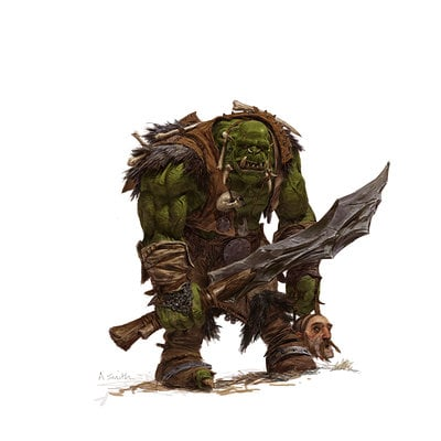 Adrian smith fw orc warrior