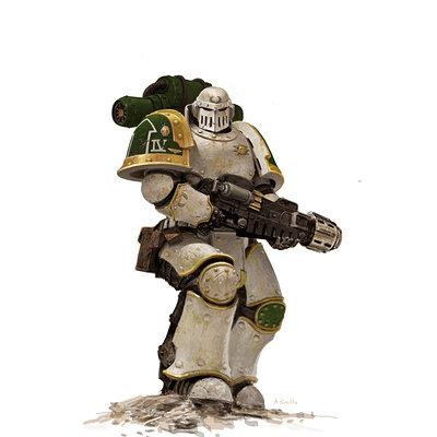 Adrian smith fw deathguard mk3 colour redo