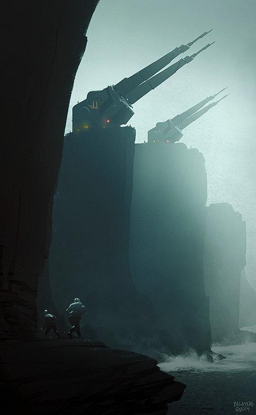 Christopher balaskas cliff artillery