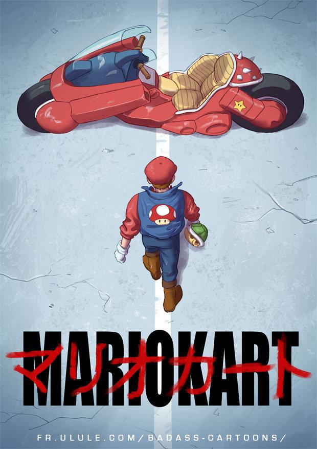 Mario Kart Badass Edition