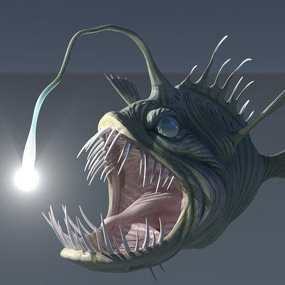 Timothy klanderud klanderud anglerfish modo render 02