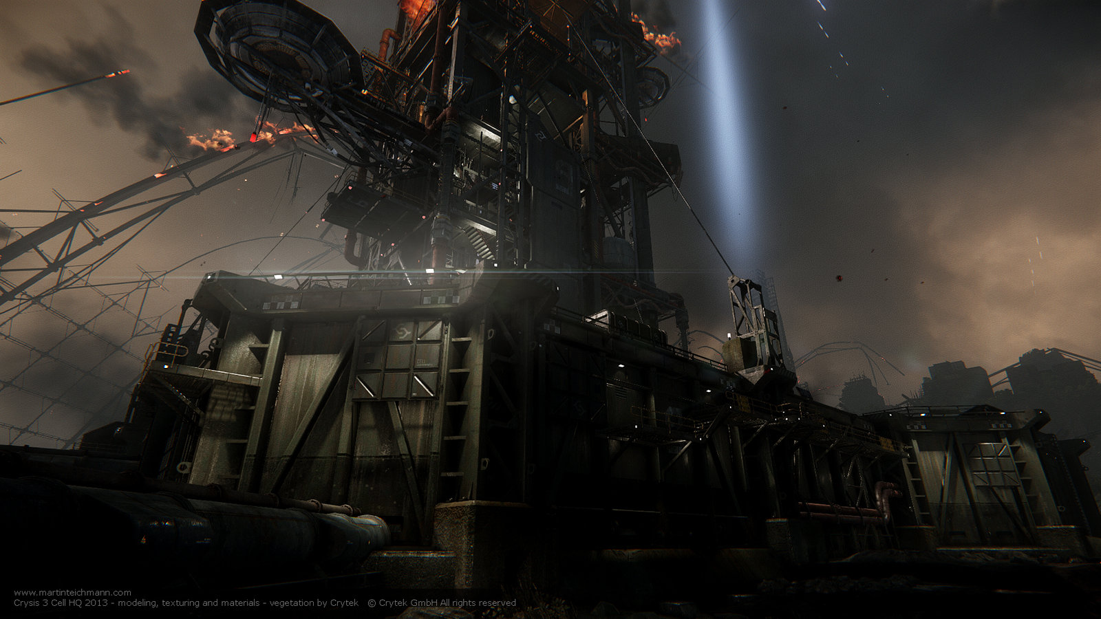 Crysis 3 Cell HQ - Red Star Rising Exterior 02