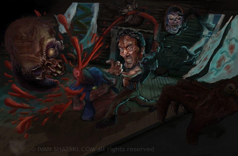 Ivan shatski evil dead terminado copia