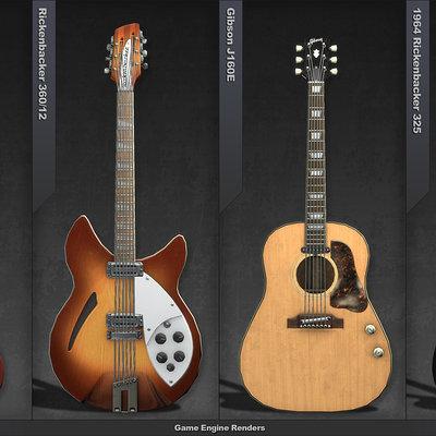 Mark van haitsma guitar portfolio page 1
