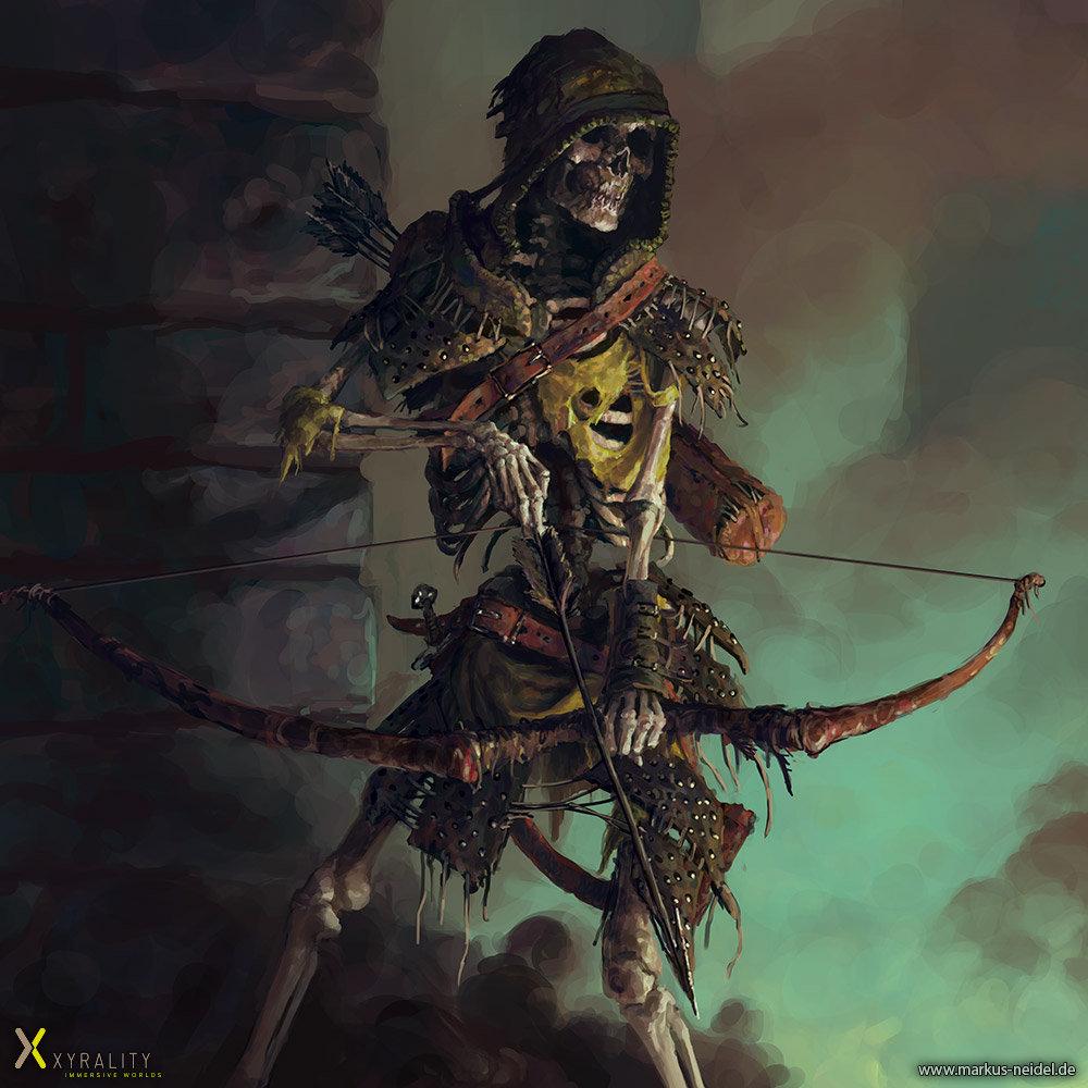 Markus neidel skeleton archer