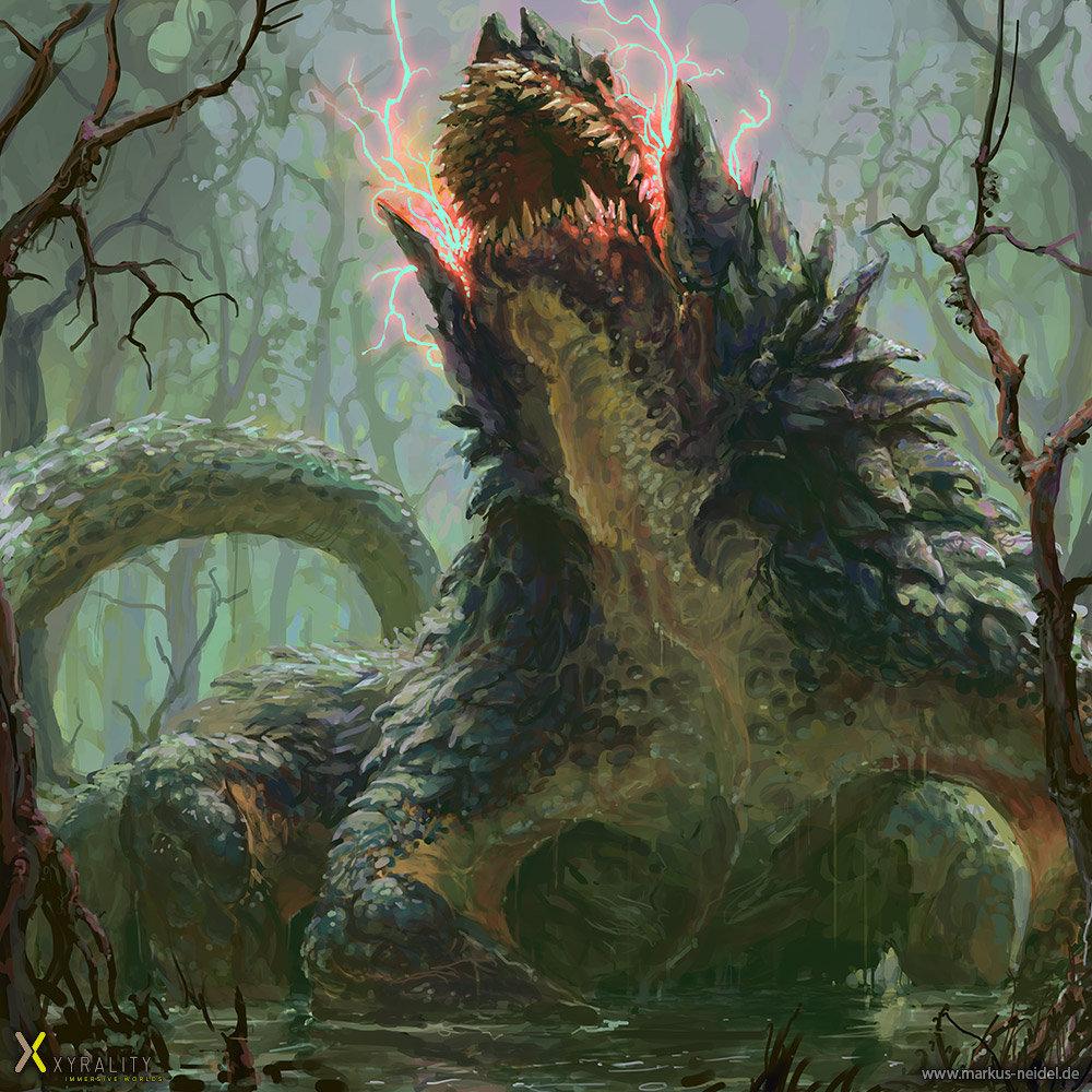 Markus neidel dragon basilisk