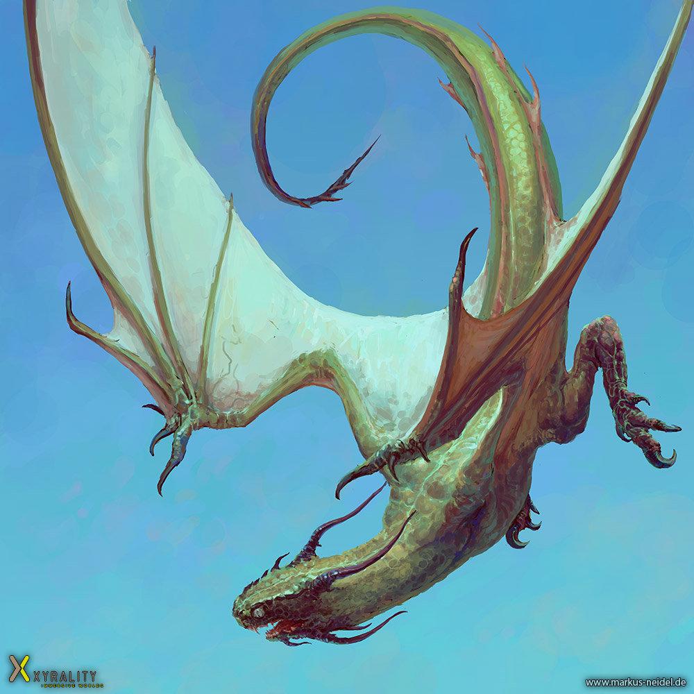 Markus neidel dragon lindwurm