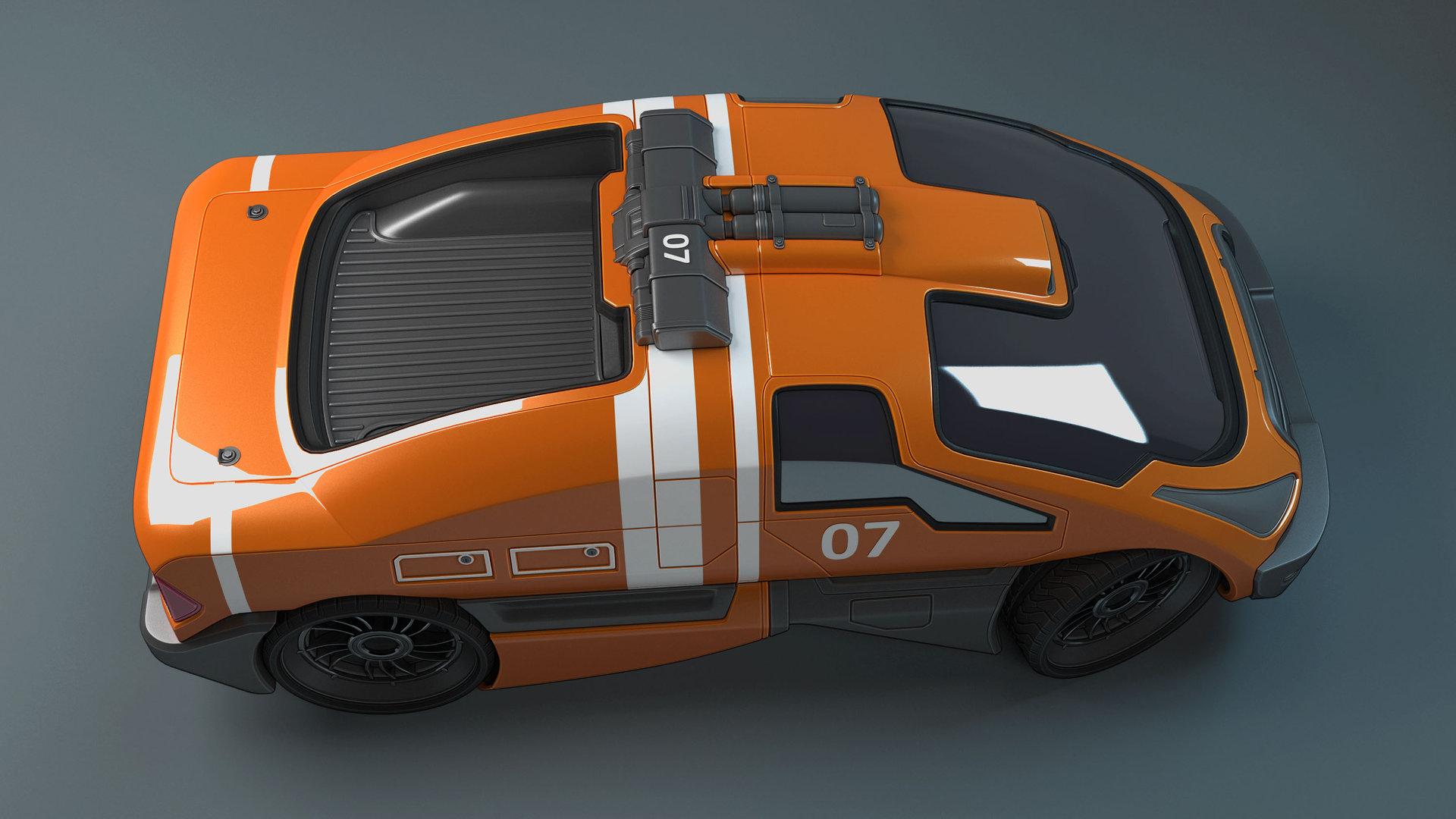 Mark van haitsma concept car top