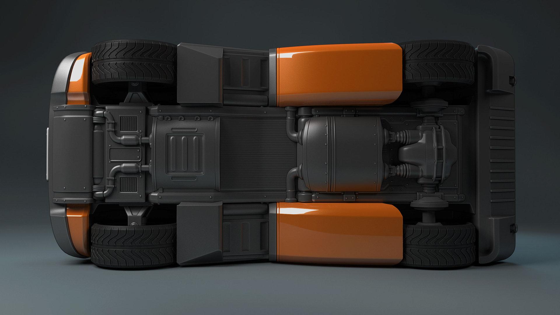 Mark van haitsma concept car bottom