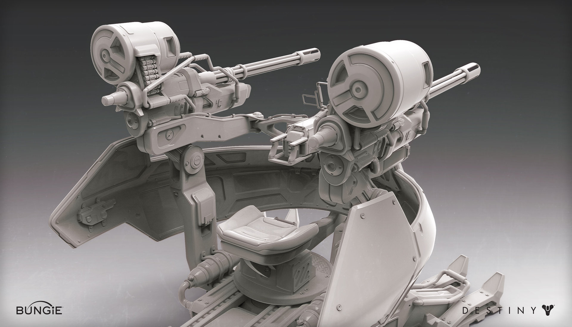 Mark van haitsma fotc turret back perspective gray