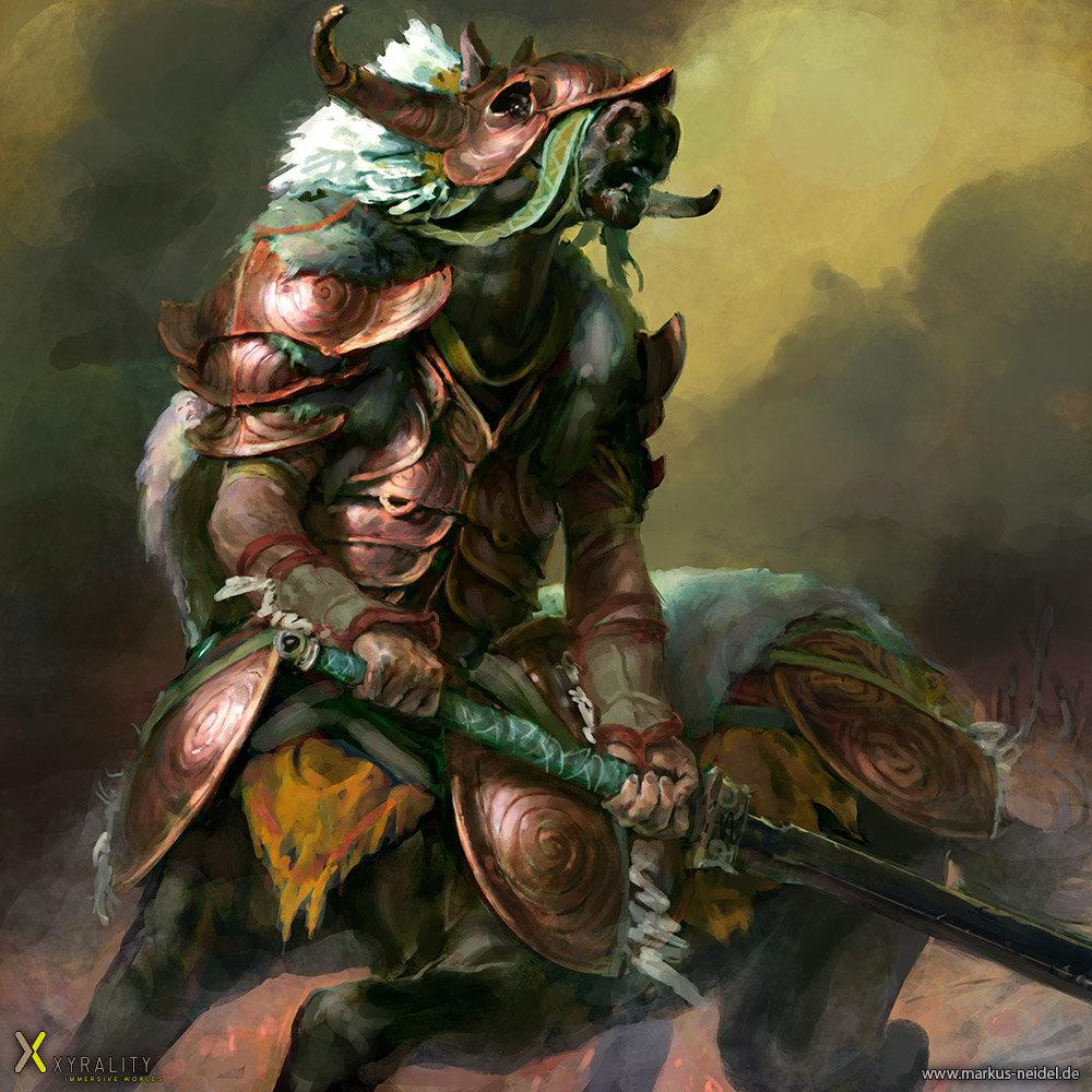 Nessos - Centaur Chieftain
