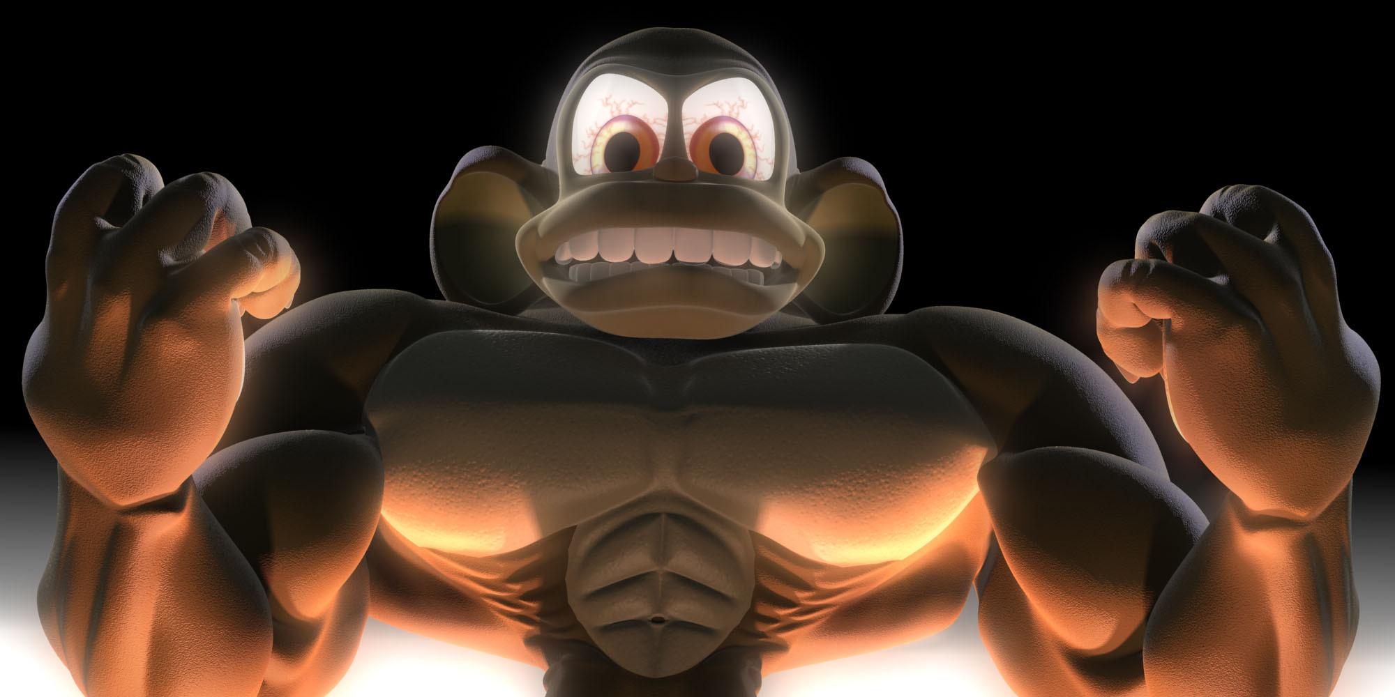 Herc Monkey needs roids