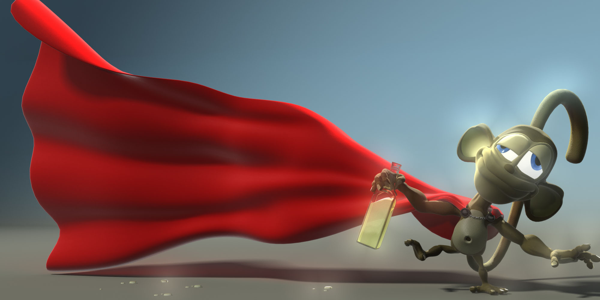 Somewhere there is a sober superhero without a cape