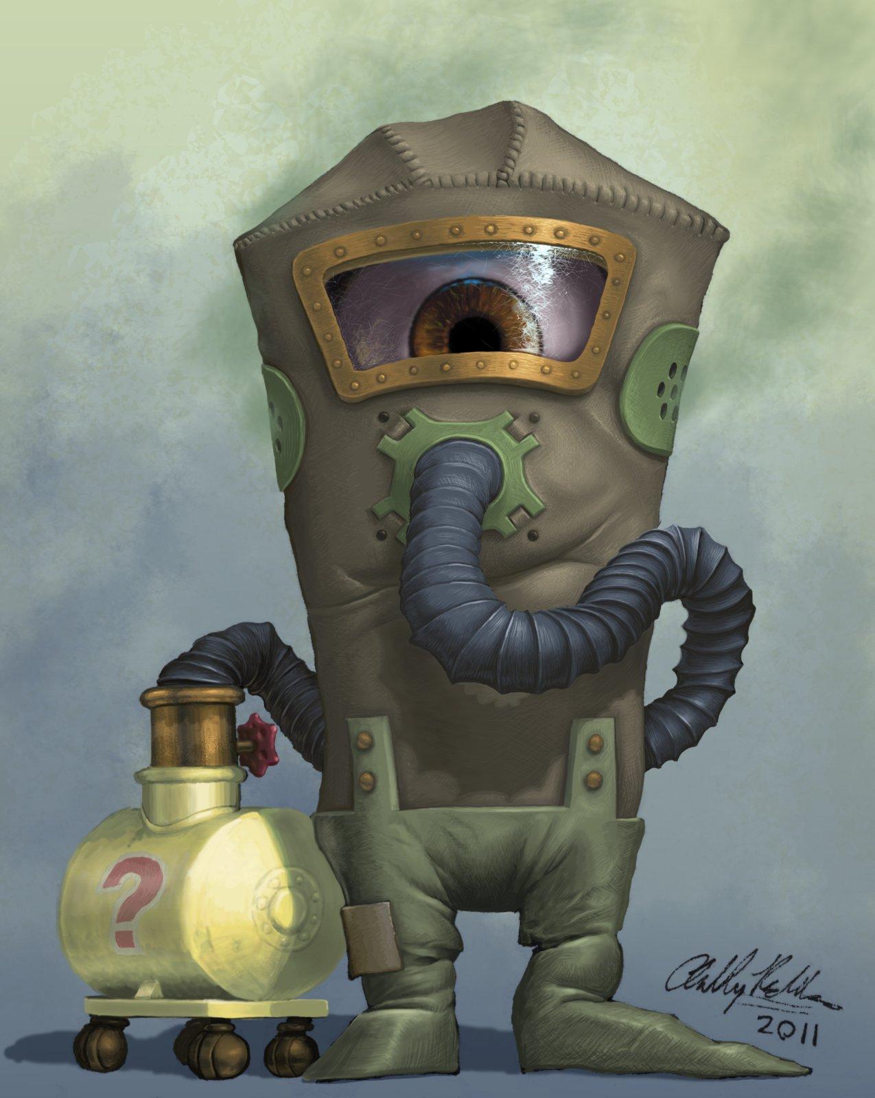 2011 - Gas Mask