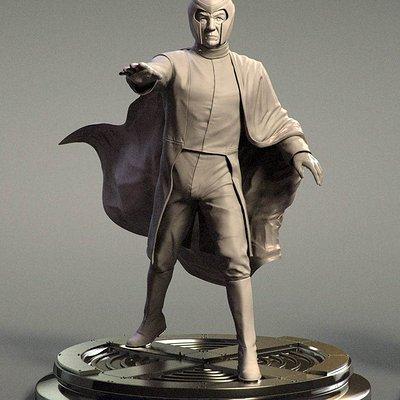 Pascal ackermann magneto statue