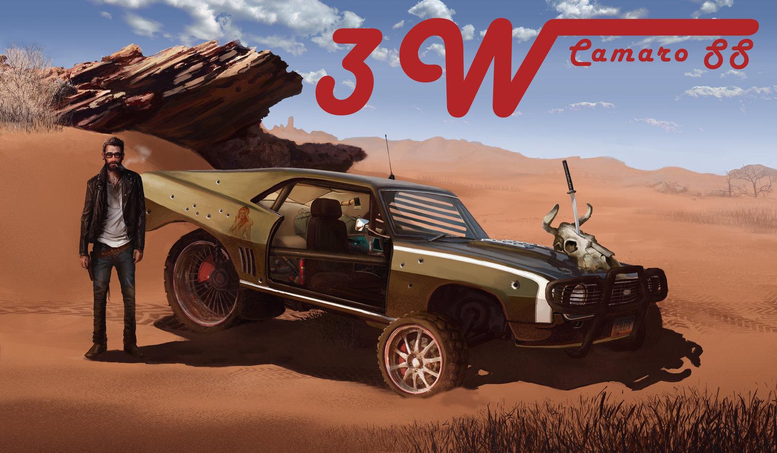 Camaro SS 3W