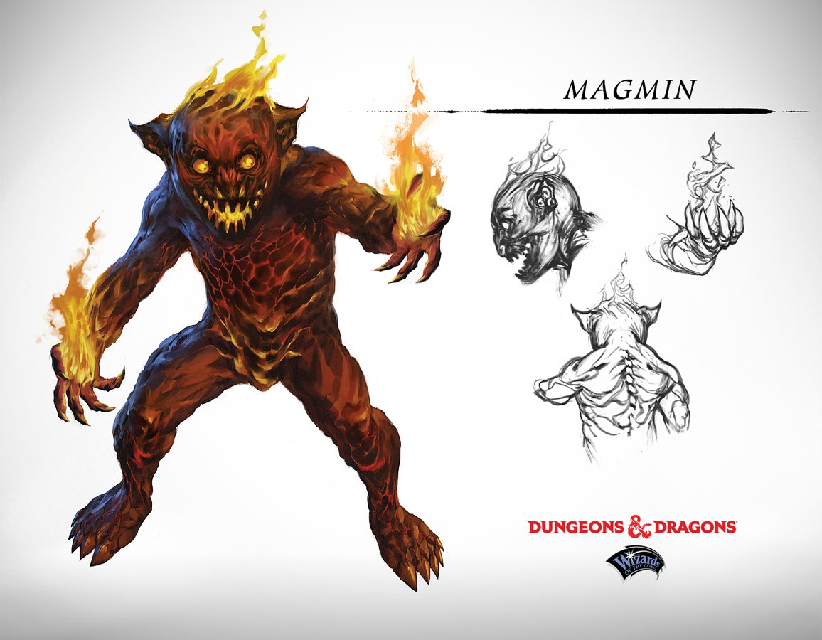 Dungeons & Dragons 5E - Monster Manual - Artist Toma Feizo Gas