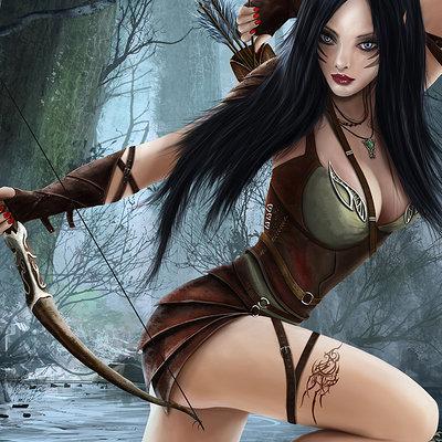 Raistlin majere elven archer