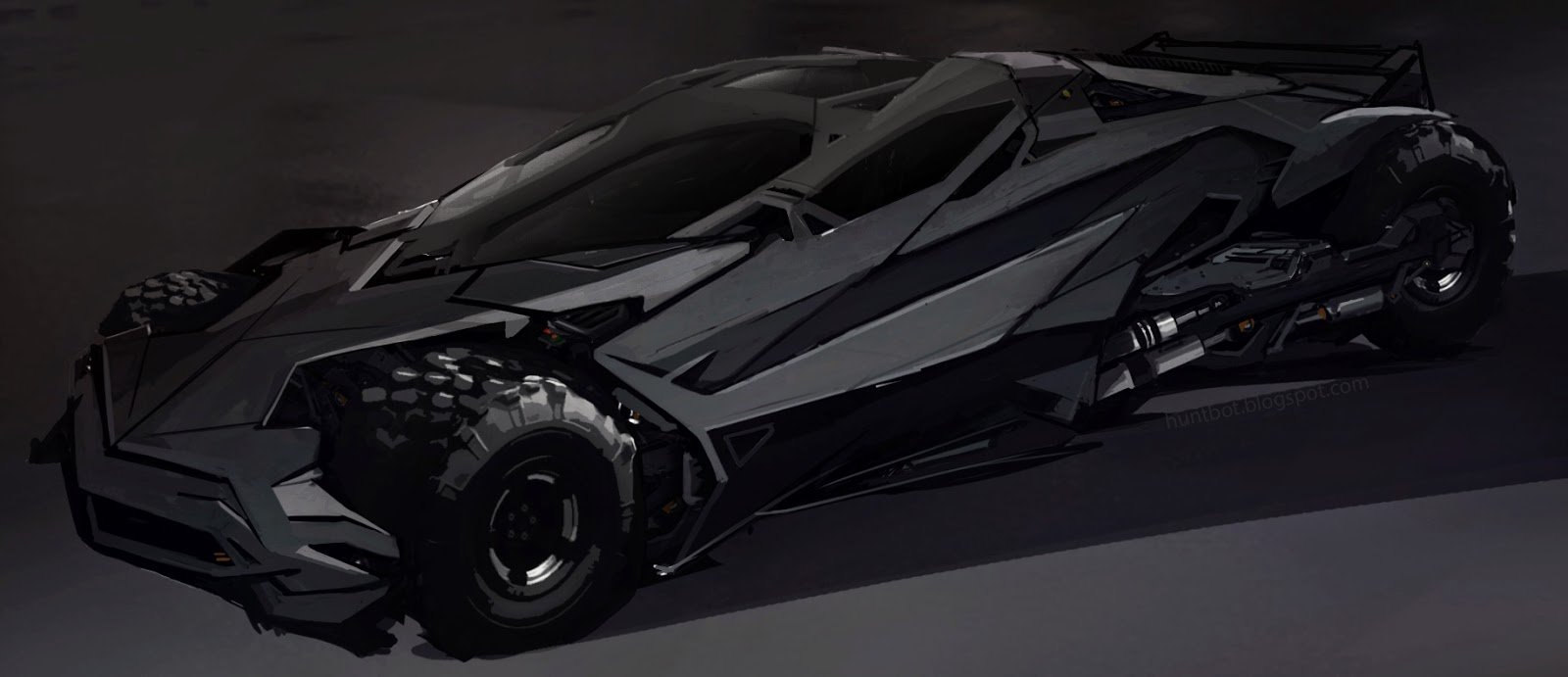 Hunt dougherty batmobile 01
