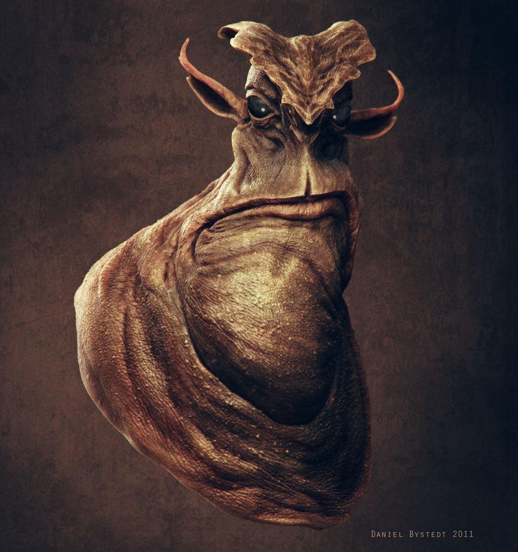 Daniel bystedt alien big chin front