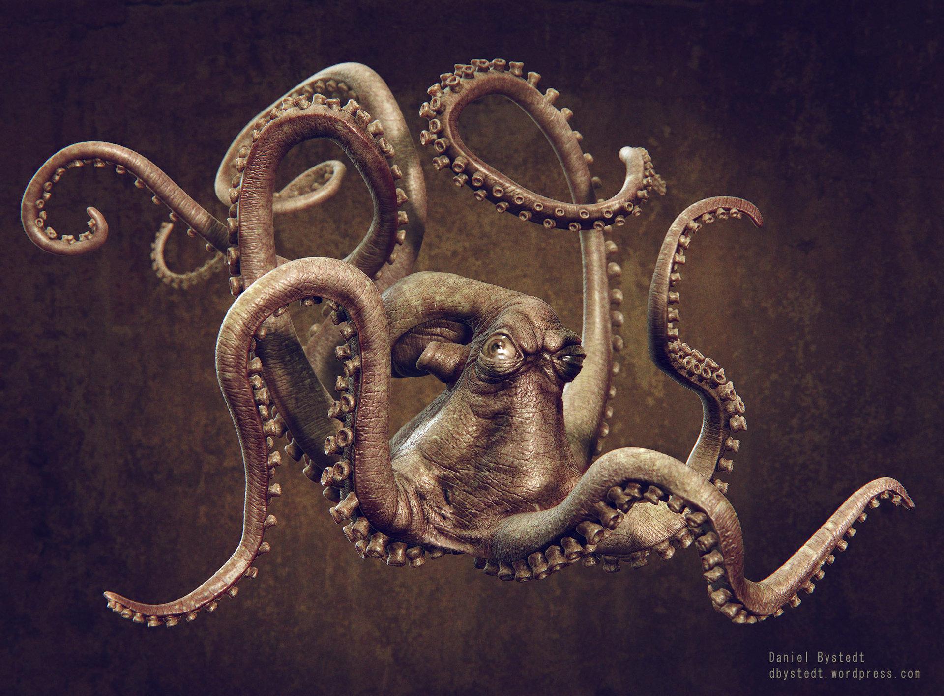 Daniel bystedt octopus front render