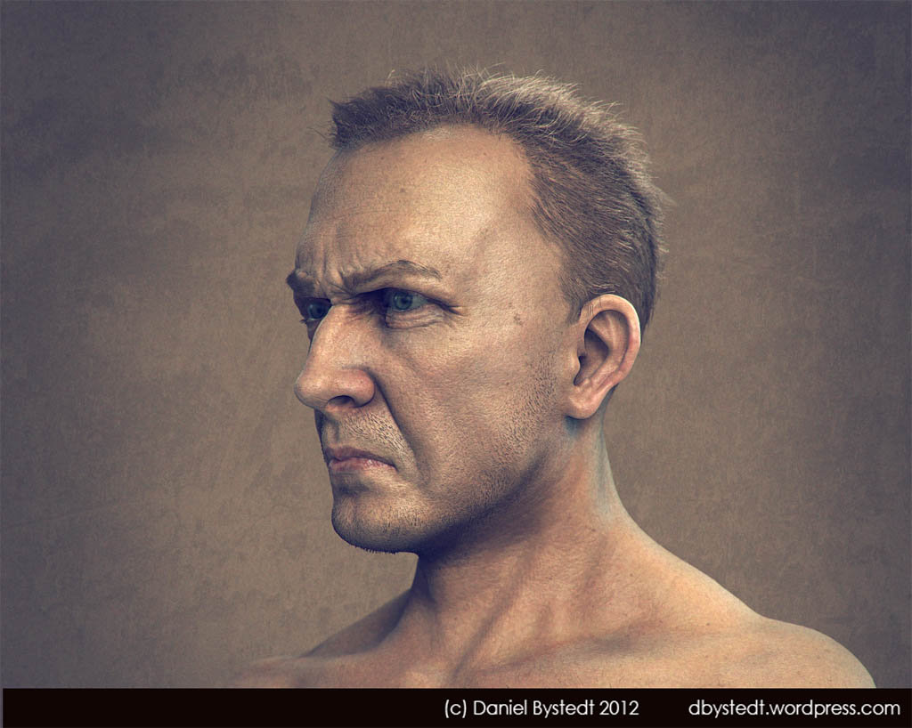 Daniel bystedt angry man side render