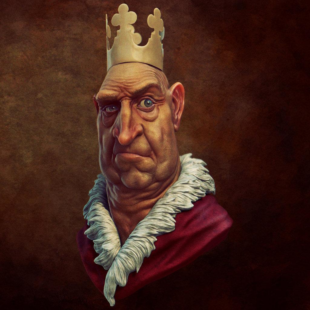 Daniel bystedt king 3d render 1