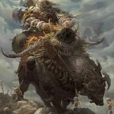 Fenghua zhong warrior