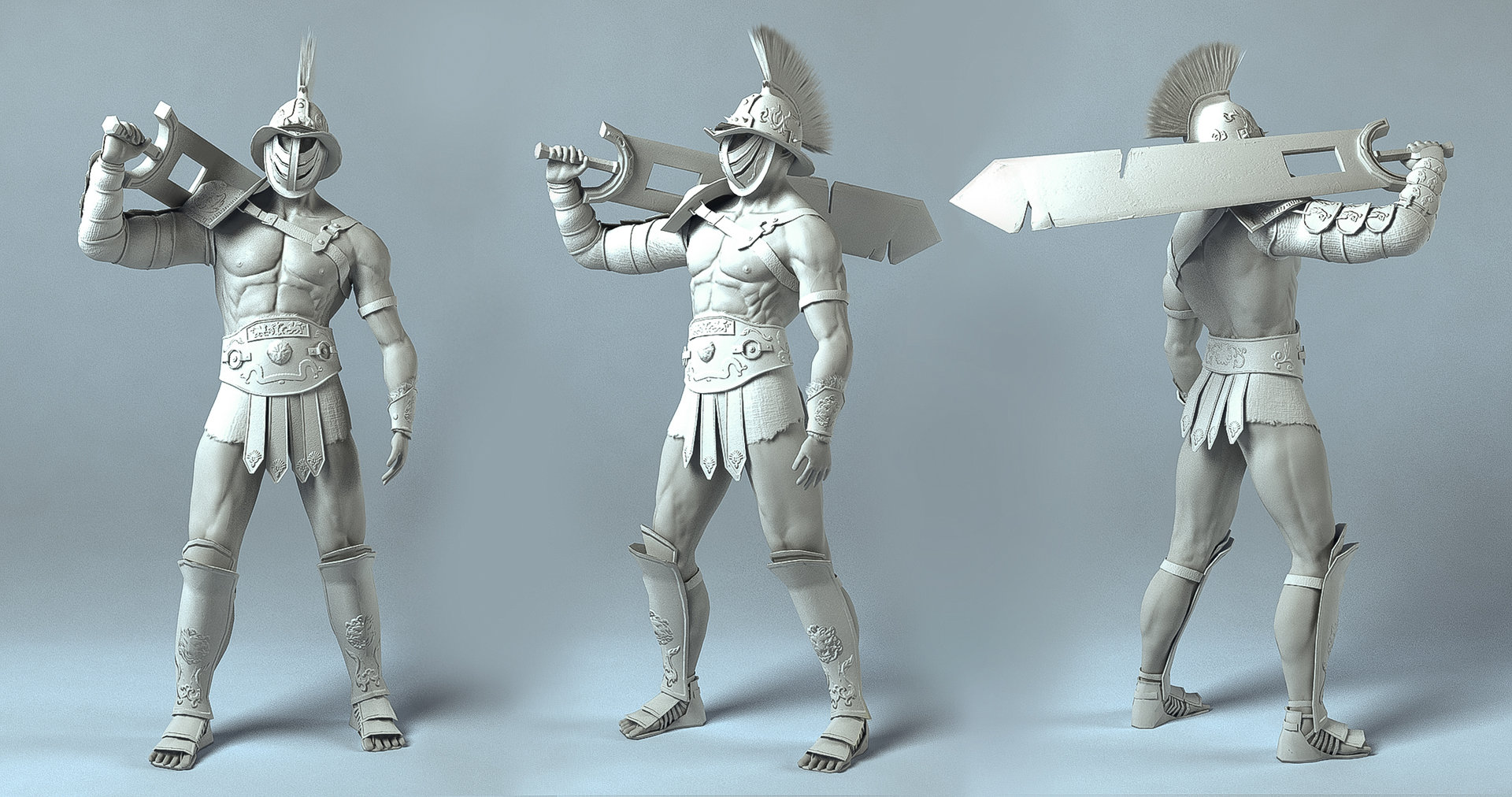 Jian han ng compositing turnaround clay