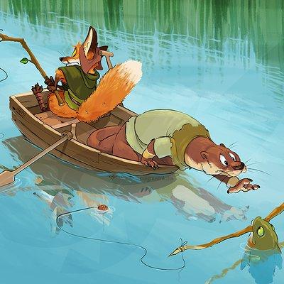 Amanda kadatz 04262014 river critters