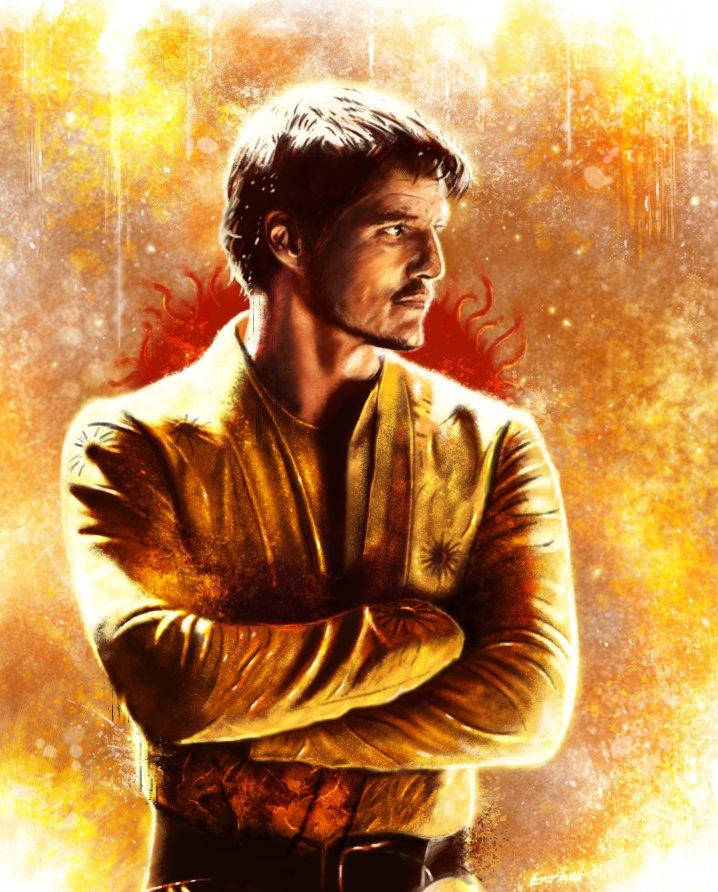 Artstation Game Of Thrones Oberyn Martell Andrey Pankov