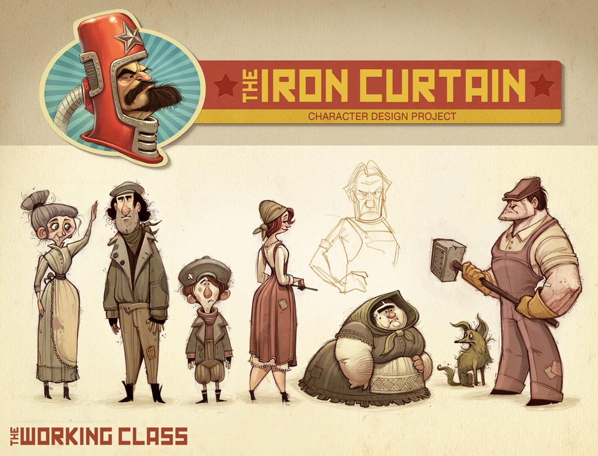 Iron curtain cartoon - Iron Curtain Cartoon 40