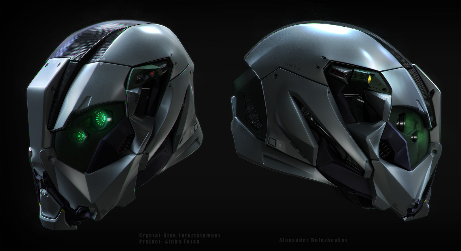 Alpha-force operative helmet