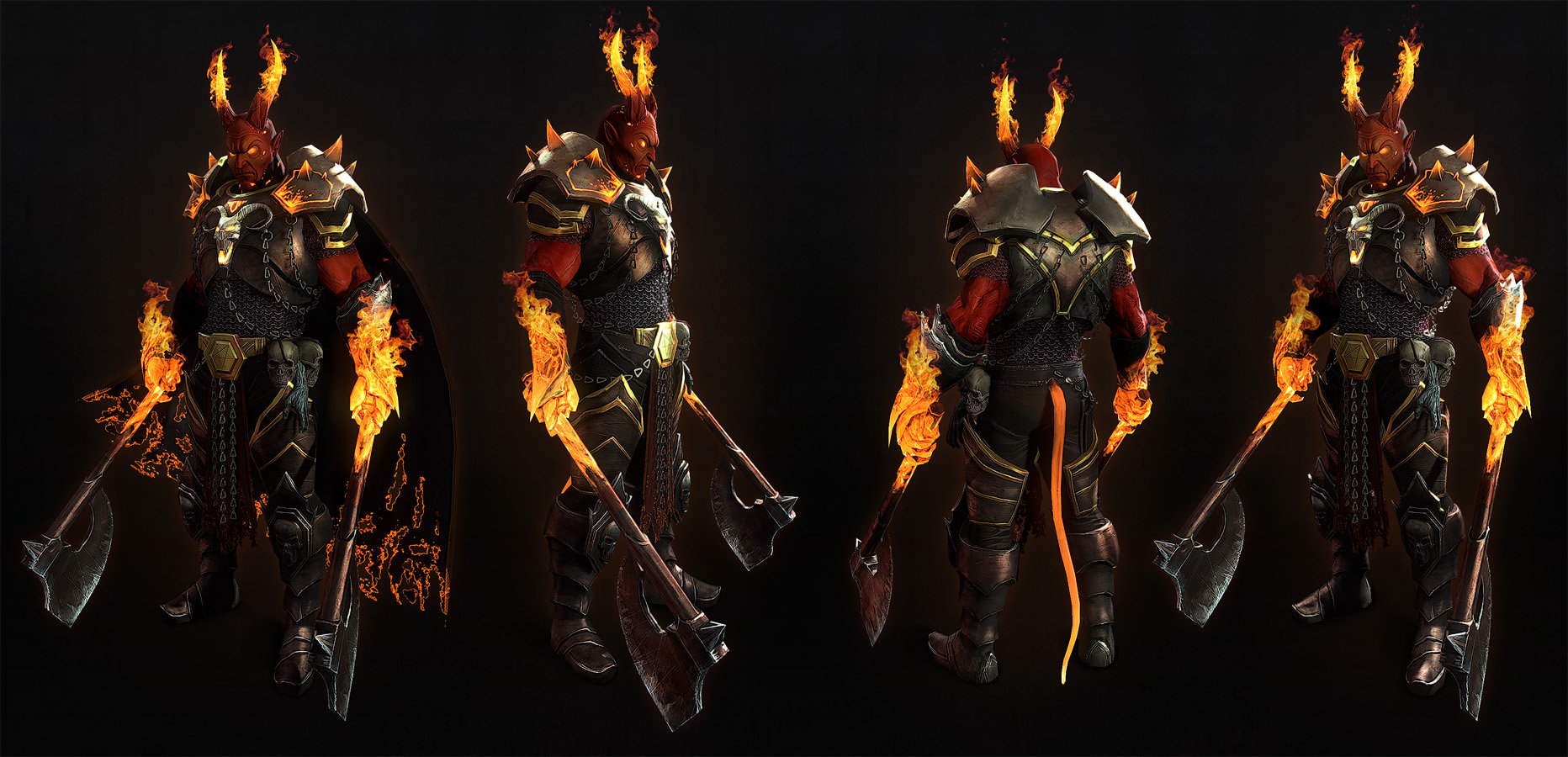 Alexander boluzhenkov demon warrior screen8 fire