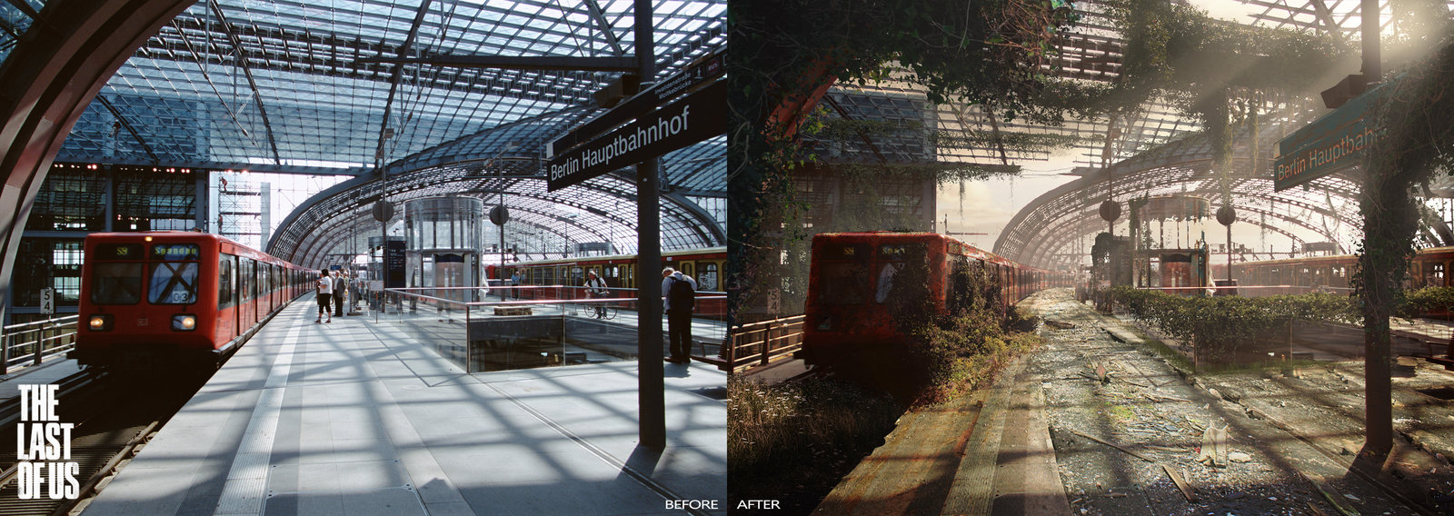 The Last of Us - Berlin Central Station