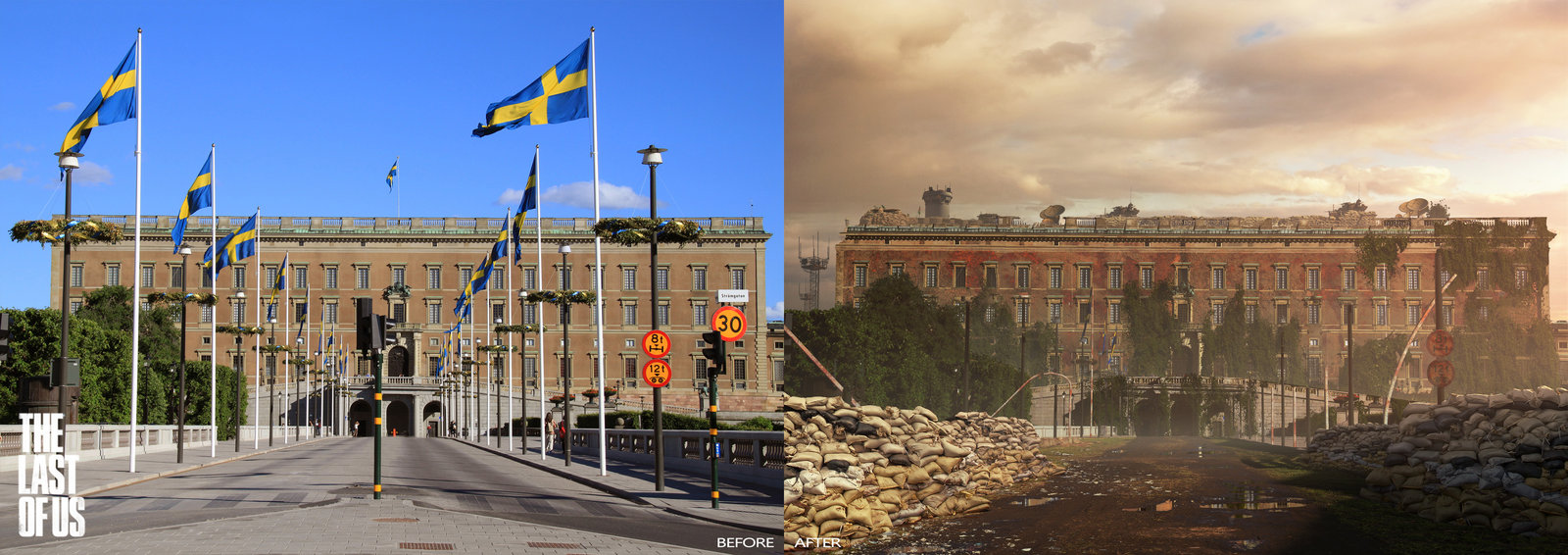 The Last of Us - Stockholm, Stockholm Palace