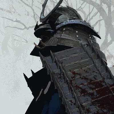 Joon ahn samurai sketch 02