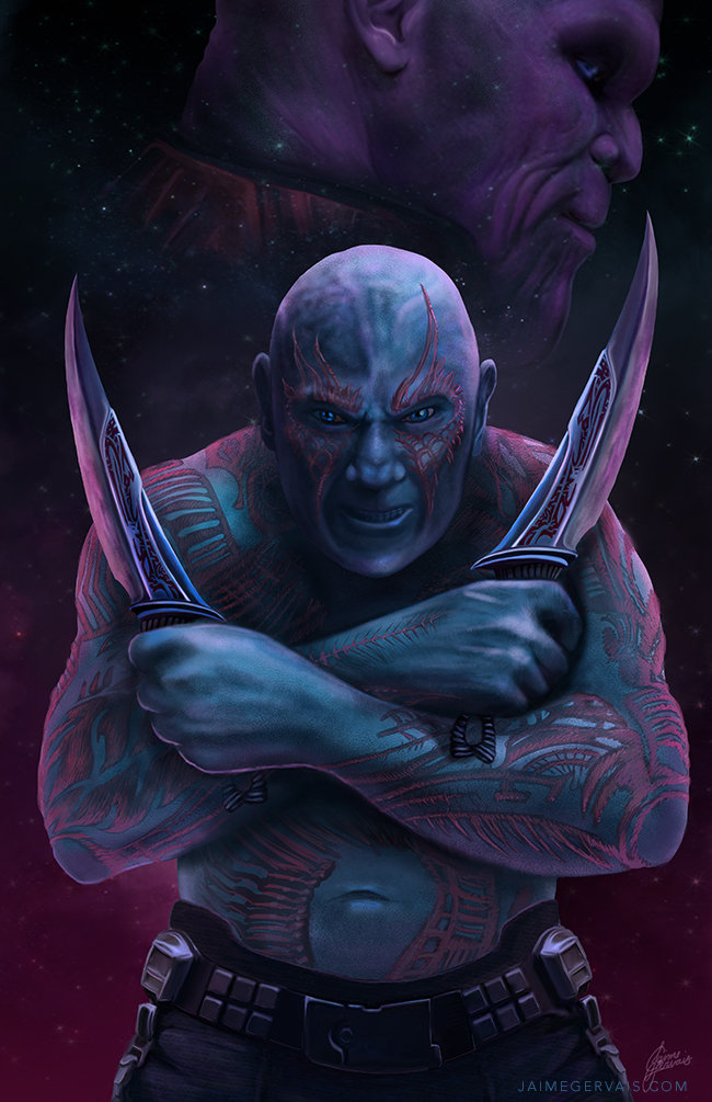 Drax vs. Thanos