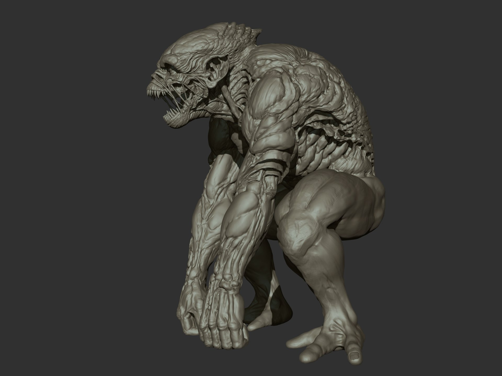 Ganesh poojari monster 002