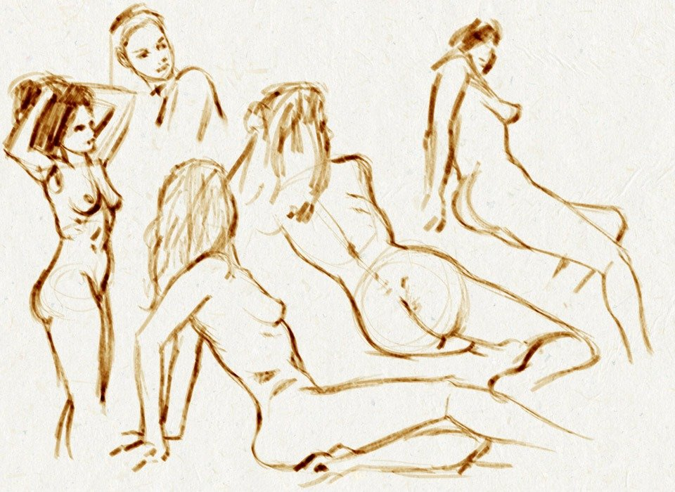 Life Drawing: Blur Session