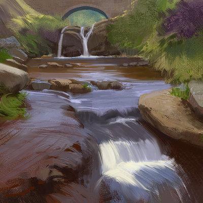 Hugo puzzuoli river flow puzzuoli