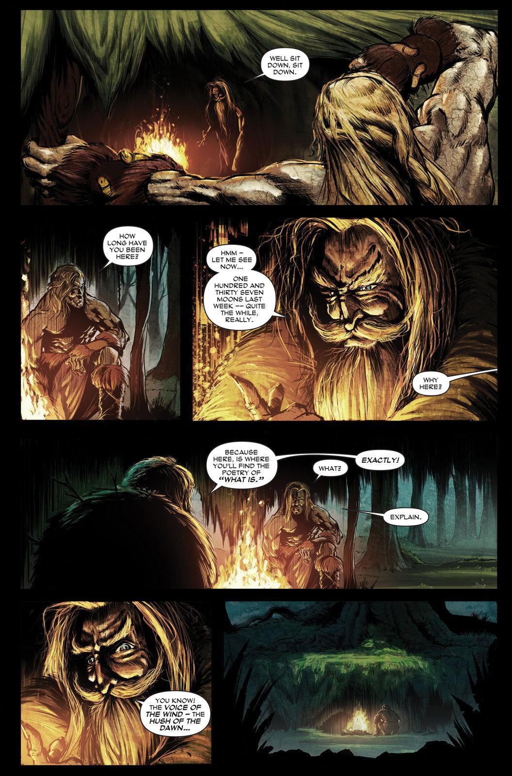 Finn McCool Comic - Finn's first meeting with Finegas