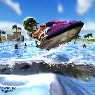 Lloyd chidgzey jetski wave 1