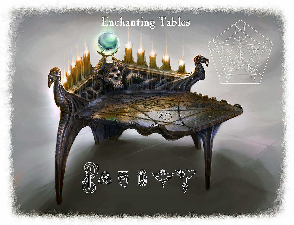 Ray lederer table enchanting web