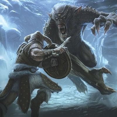 Ray lederer ray lederer tesv troll fight