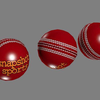 Lloyd chidgzey cricketball 01